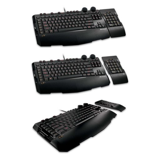 Price comparison product image Microsoft Sidewinder X6 Gaming Keyboard with USB Port