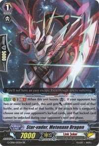 Star-vader, Metonaxe Dragon - G-CB06/013EN - RR - G Clan Booster 6: Rondeau of Chaos & Salvation