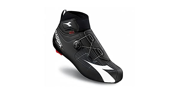 Amazon.com: Diadora Mens Polarex Plus Winter Road Biking Shoe - 170229: Sports & Outdoors