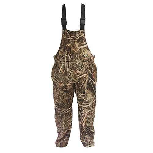 (Wildfowler Waterproof Bibs, Large, Wildgrass )