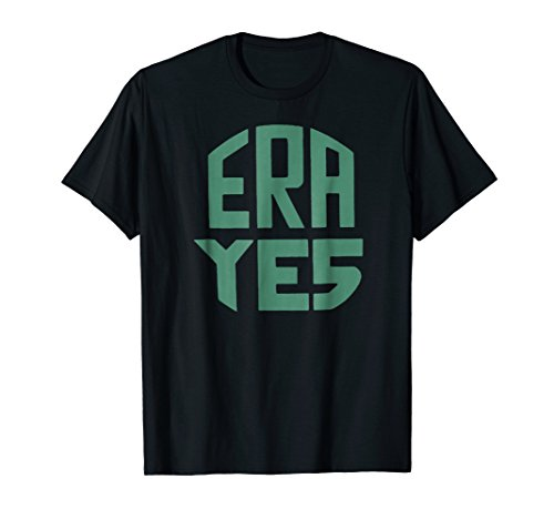 ERA YES Equal Rights Amendment Vintage Feminist T Shirt Gift (Black On Black T Shirt Equal Rights)