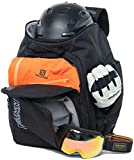 Element Equipment Ultimate Boot Bag Snowboard Ski Backpack Black NanoWeave Ripstop