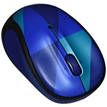 Logitech M325C Colorful Play Collection Wireless Mouse - Blue Harlequin for WIN/MAC/CHROME OS/LINUX