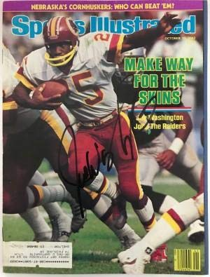 Joe Washington Signed Sports Illustrated October 10 1983 - Autographed NFL Magazines