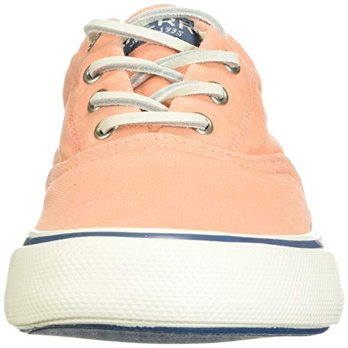 Sperry Men's Striper II CVO Kick Back Sneaker, Coral, 7 M US