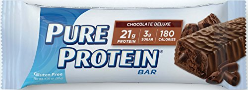 Pure Protein Chocolate Deluxe Bar, 12 Count, 1.76 oz