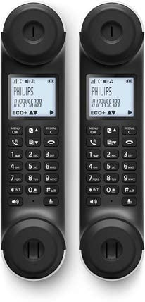 Duo Teléfono Inalámbrico PHILIPS MIRA M5602WG/22 Blanco y Gris Oscuro: Amazon.es: Electrónica