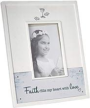 Precious Moments Moldura para fotos Faith Fills My Hear with Love 193412, tamanho único, multicolorido
