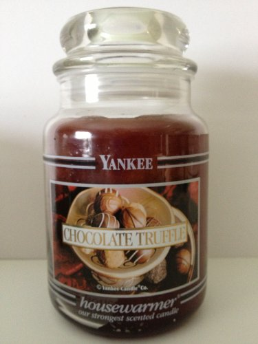 (Yankee Candle Chocolate Truffle Large Jar Candle, Food & Spice Scent)
