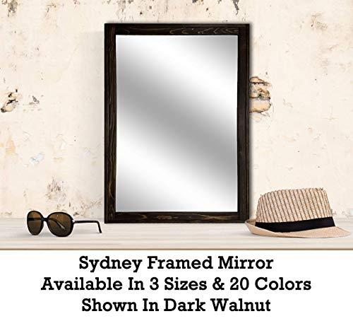 Sydney Rustic Mirror - Vanity Mirror, Bathroom Mirror, Farmhouse Decor, Wood Mirror, -