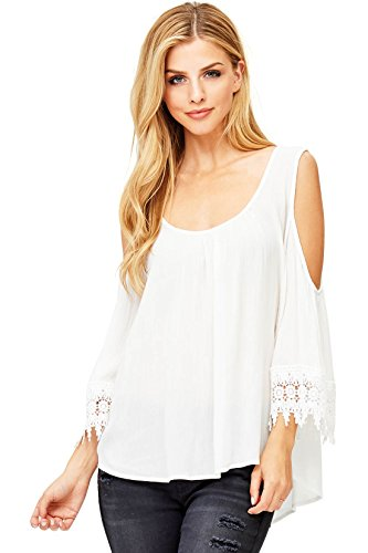 Ambiance Womens Style Shoulder Blouse product image