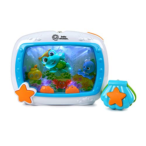 - Baby Einstein Sea Dreams Soother Musical Crib Toy and Sound Machine, Newborns +