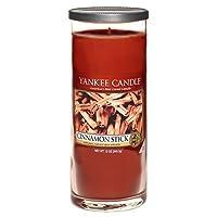 Yankee Candle vela de pilar grande, Palo de canela, rojo
