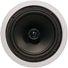 ArchiTech Pro Series AP-801 In-Ceiling Loudspeaker Pair 8 2-Way Round Consumer Electronics