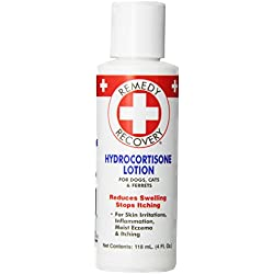 Remedy + Recovery Hydrocortisone Lotion .05% for Dogs, 4-Ounce