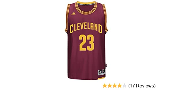 Amazon.com : LeBron James Mens Maroon Cleveland Cavaliers adidas Swingman Jersey : Sports & Outdoors