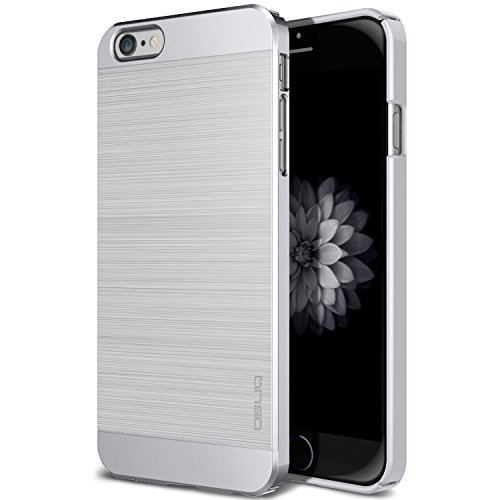iPhone 6S Case, OBLIQ [Slim Meta][Satin Silver] Premium Slim Fit Thin Armor All-Around Shock Resistant Polycarbonate Metallic Case for Apple iPhone 6S (2015) & iPhone 6 (2014)