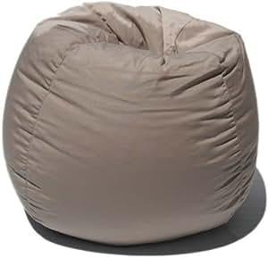 sunbrella indoor outdoor bean bag chair in putty tan kitchen dining. Black Bedroom Furniture Sets. Home Design Ideas