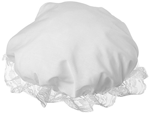 (Colonial Mob/Mop Hat-Halloween Costume Accessory-White, one)