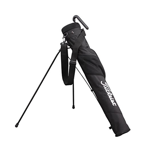 East Bag Village - Titleist Adaptive Club Case Caddie Stand Bag, #AJSSB71, Black