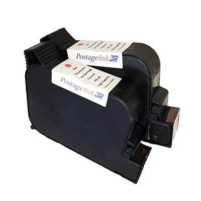 FP PostBase Ink Cartridge # 58.0052.3028.00 Compatible High Capacity Fluorescent Red Ink Cartridge Set.