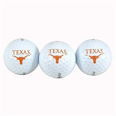Team Effort Texas Longhorns Golf Ball 3 Pack