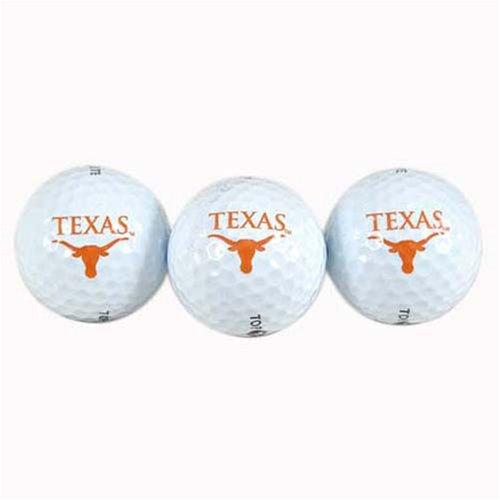 Texas Golf Balls 3- Pack, Outdoor Stuffs
