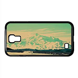Beautiful Snowy Mountain Watercolor style Cover Samsung Galaxy S4 I9500 Case