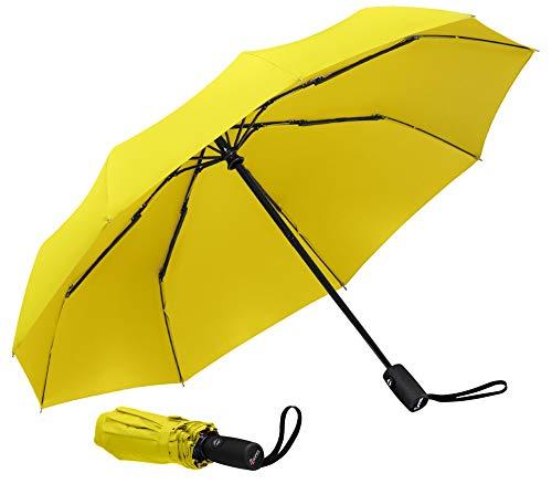 (Repel Windproof Travel Umbrella with Teflon Coating (Yellow))