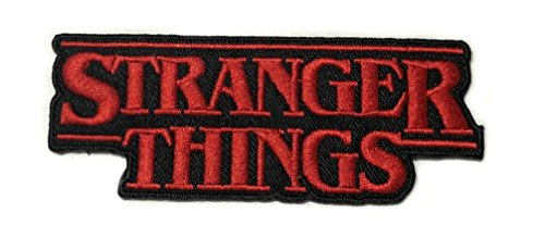 STRANGER THINGS Patch TV Superhero Comics Logo Character Theme Series New 2018 Marvel Movies Embroidered Sew/Iron on Badge DIY Appliques