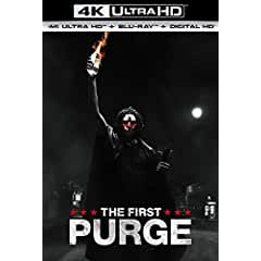THE FIRST PURGE arrives on Digital Sept. 18 and on 4K Ultra HD, Blu-ray, DVD Oct. 2 from Universal