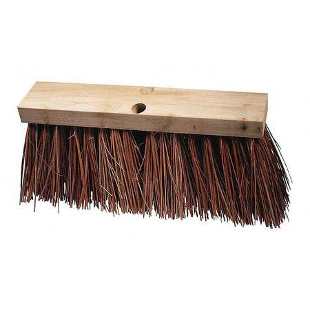 16' Street Broom - Street Broom, Palmyra/Bass, 16'