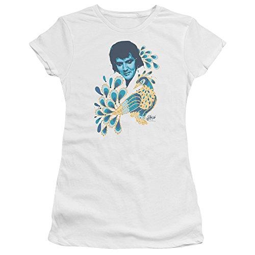 shirt Presley Elvis Bella Femmes Premium T White Pour Paon qaPwEg
