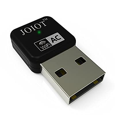 Joiot WiFi 11AC 600M Dual Band Nano USB WiFi Adapter for Laptop and Desktop, 5GHz 433Mbps and 2.4GHz 150Mbps, Backward Compatible with 802.11 a/b/g/n, Supports Windows 10/8.1/8/7/Vista/XP