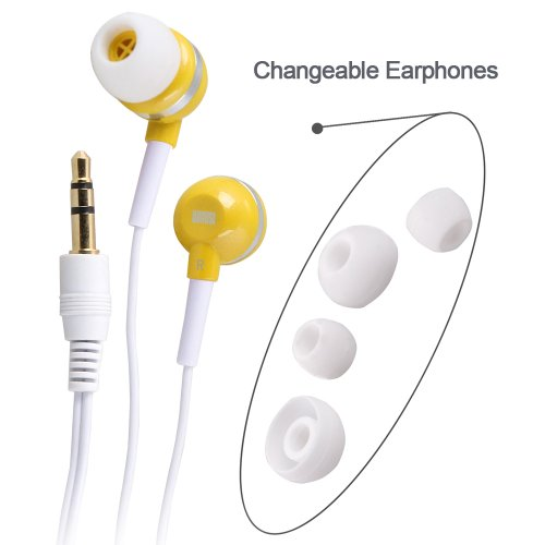 August EP510 - Auriculares Universales In-Ear Estéreo: Amazon.es: Electrónica