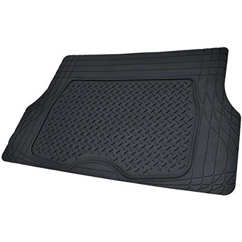 Motor trend flextough rubber car floor mats cargo trunk for Motor trend floor mats review