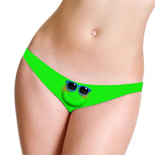 Marrymi Sexy G-String Printed Underwear Low Rise Thong Created Lingerie Panties