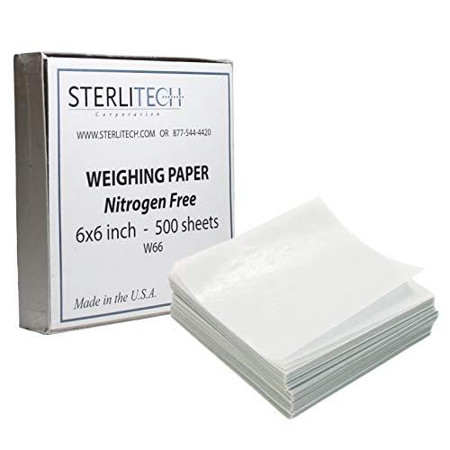 Weighing Paper, Nitrogen Free, 500/Pk