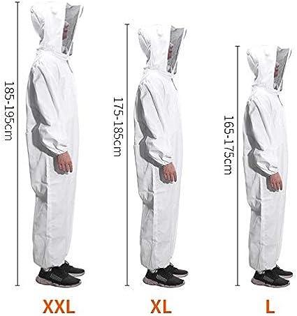 Moontay Cotone Full Body Apicoltura Abbigliamento Velo Cappuccio ...