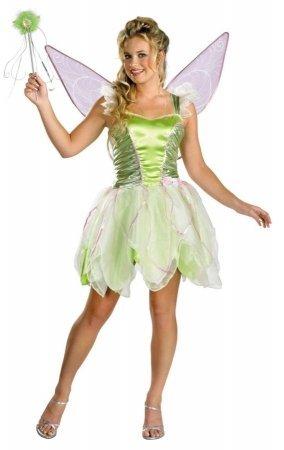 Tinker Bell Deluxe Teen/Junior Costume - Teen ()