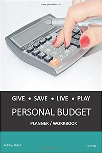 amazon give save live play personal budget planner workbook a 26