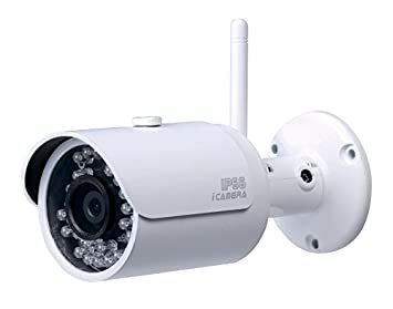 Dahua Technology IPC-HFW1000S-W IP security camera Exterior Bala Color blanco - Cámara