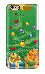 New Fashion Premium Tpu Case Cover For Iphone 6 Tree With Christmas Gift