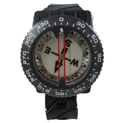 Wrist Mount Compass (Scuba Choice Scuba Diving Deluxe Wrist Compass)