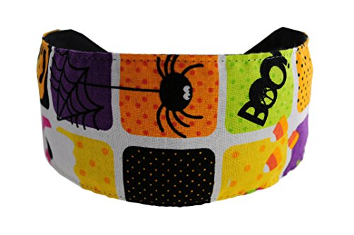 Pumpkin, Ghosts and Candy Corn. Halloween Soft Headband