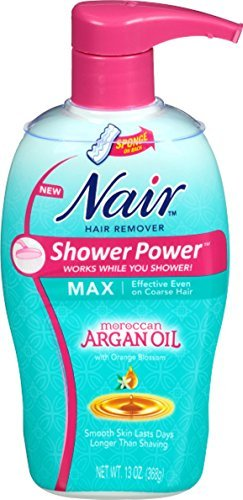 Nair Shwr Pwr Max Argn Oi Size 13z Nair Shower Power Max With Moroccan Argan Oil-Pump