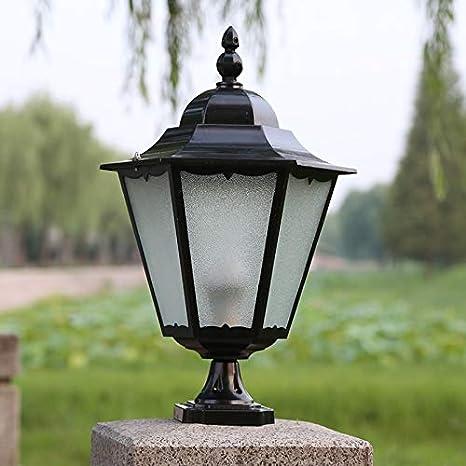 HDMY Lampe de colonne en aluminium moulé sous pression ...