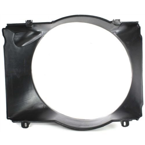 MAPM Premium Quality F-SERIES 87-93 RADIATOR FAN SHROUD, With V8/Gas Engine FOR 1992-1993 Ford Bronco