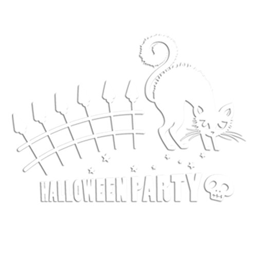 Mochiglory Halloween Party Wall Stickers Decals Removable Halloween Decro Mural Art For Home Wall And Window -