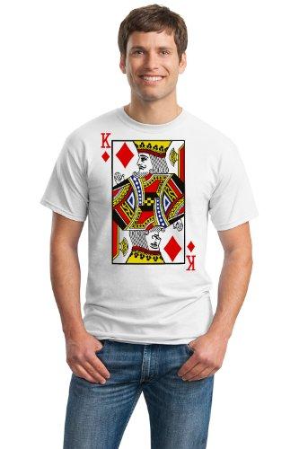 KING OF DIAMONDS Unisex T-shirt / Card Costume Tee, Magic Trick Tee